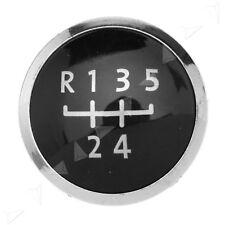 5 Speed Gear Knob Badge Emblem Cap For VW Volkswagen Transporter T5 & T5.1 GP