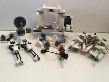 Lego Star Wars 8089 Hoth Wampa Cave & 75014 Battle Of Hoth Incomplete See Desc