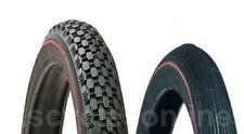 Pair of Genuine Raleigh Redline Chopper Bike Tyres - New
