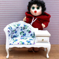 1: 12 Miniature dollhouse furniture model living room sofa with drawers VV