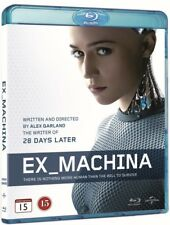 Ex Machina Blu Ray (Region Free)