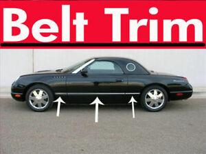 For Ford THUNDERBIRD Chrome Body Side Molding Trim Kit 2002 2003 2004 2005