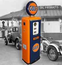 GULF OIL CO  MODEL 39 TOKHEIM FULL SIZE GAS PUMP-GASOLINE PETROLINA