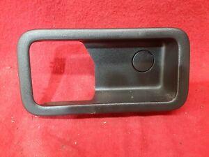 2008 2009 2010 Ford Edge - Rear Left Interior Door Handle Bezel - Black
