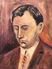 Immagine petto Portrait-giovane-testa-collages 52 x 42 cm