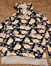 Latched Mama Floral Nursing Hoodie, XXL