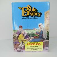 The Bible Story Volume 1 One Book Arthur Maxwell Hardcover Display Copy RARE