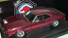1/18 RACING CHAMPIONS 1967 CHEVROLET CAMARO SS 396 DARK METALLIC RED gd