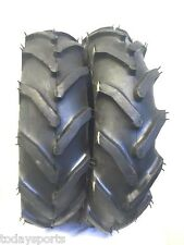 Dos 6-12 Carlisle Tru neumáticos de estirón Tractor de jardín Power