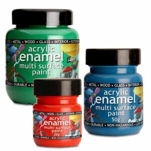 Polyvine Acrylic Enamel Paint - All Sizes - Many Colours