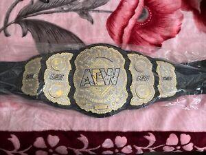 aew championship belt replica