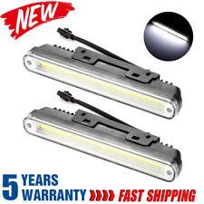 2X COB LED Daytime Running Lights Car Driving DRL Fog Lamp Light Super 12V White