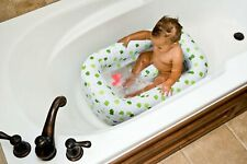 Mommy's Helper Inflatable Bath Tub Froggie Collection White Green 6-24 Months