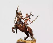 75mm Resin Figure Model Kit Centaur and Wild Elf Unassambled Unpainted