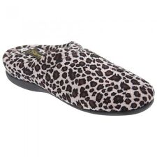 Women's Animal Print Slipper Mules