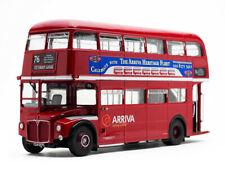 ROUTEMASTER RM #76 DOUBLE DECKER BUS RED 1/24 DIECAST MODEL BY SUNSTAR 2941