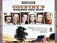 Country's Number One Hits 80 Songs 4 CDs