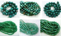 UKcheapest-green dragonvein agate round faceted 4 6 8 10 12 14mm gemstone beads
