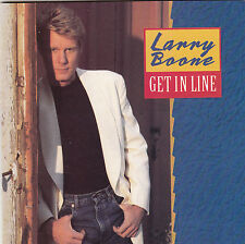 Larry Boone get in line CD Album Country columbia