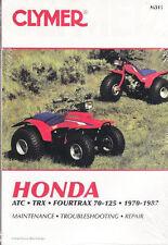 1970 - 1987 Honda ATC, TRX, Fourtrax 70 - 125 Clymer ATV Repair Manual M311