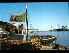 SETE (34) CARGO & BATEAU de PECHE au PORT en 1973