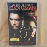 VHS Movie - Hangman - PAL - Box + Cassette Tape - VHS Movie - Hangman