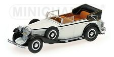 MINICHAMPS 1 43 Maybach Zeppelin - White With Black