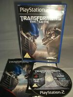 Sony Playstation 2 PS2 Console Game - Transformers The Game - Complete