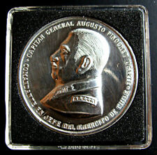 CHILE, FORMER GENERAL AUGUSTO PINOCHET MEDAL, THE ARMY AS A PERSONAL GIFT TO HIM