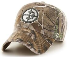 Pittsburgh Steelers NFL '47 Franchise RealTree Camo Slouch Hat Cap Men's Fitted