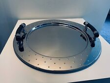 Alessi Collectables - Graves Round Tray with Handles - Hard to Find