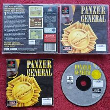PANZER GENERAL ORIGINAL BLACK LABEL PLAYSTATION SONY PS1 PS2 PAL