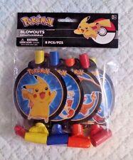 Pokemon Pikachu & Friends Blowout Favors 8ct
