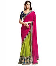 Veeraa Saree Exclusive Beautiful Designer Bollywood Indian Party wear Sari 174