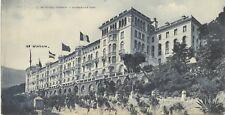 Monte-Carlo Monaco Riviéra Hôtel Grand Carte Panoramique 14,4x27,8 cm