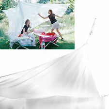 Large Mosquito Fly Net Indoor Outdoor Camp Portable Netting Canopy Tent White