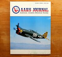 Vtg. AAHS American Aviation Journal Airplane Magazine Vol 27 #1 Spring 1982