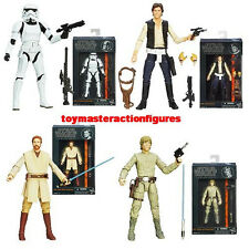 STAR WARS 2013 BLACK SERIES 6 Inch WAVE 3 SET OF 4 Factory Sealed Case IN STOCK