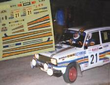 DECAL CALCA 1/43 SEAT 124 Gr.2 P. DE SOUSA RALLY COSTA BRAVA 1981