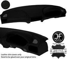 BLACK STITCH TOP DASHBOARD KIT REAL LEATHER COVERS FOR BMW Z3 1995-2003