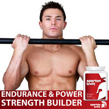 SPARTAN HEALTH STRENGTH BUILDER PILLS INCREASE STRENGTH ENDURANCE & POWER
