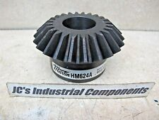 "Steel bevel gear  Martin   HM624A    6 pitch   24 teeth   1-1/2"" bore   20 deg"
