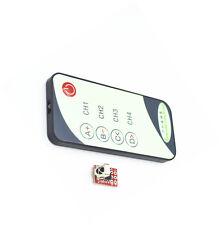Interruttore di controllo remoto 4 canali relè consiglio Modulo con Wireless ad infrarossi CJ