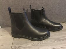 Wrangler Mens Leather Chelsea Boots Black size uk 10 - Brand New Without Box