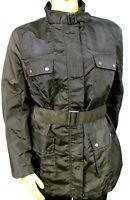 NEUF femmes Parka CARGO veste bleu ou vert doublé polyester grande taille 48, 50