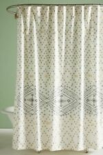 NEW Anthropologie Pointiliste Shower Curtain