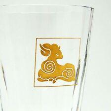 BACCARAT Crystal RAM Mille Nuits Tumbler Juice Water Glass Zodiac Sheep Goat MIB