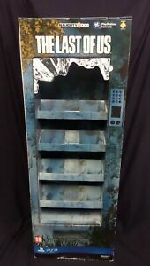 THE LAST OF US VENDOR DISPLAY STAND STANDEE / GENUINE / NOT A GAME / UK