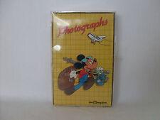 New Vintage Walt Disney World Mickey Mouse Picture Photo Photograph Album