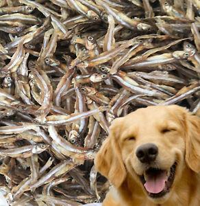 100% NATURAL DRIED WHOLE SPRATS ANCHOVIES DOG TREAT - FISH TREAT OMEGA 3,6 100g